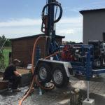 Wiercenie studni głębinowej w Kępnie