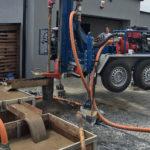 Wiercenie studni w kuwetach