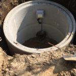 Wykończenie studni głębinowej