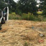Próbne pompowanie studni